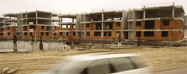 Abandoned construction site near Paphos