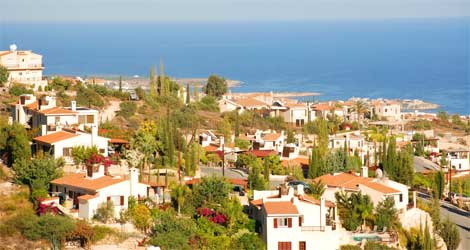 How far have Cyprus property prices fallen?