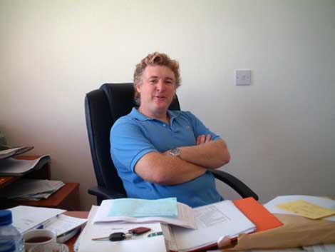 Property developer Ian Beaumont