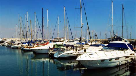 Larnaca marina and port project