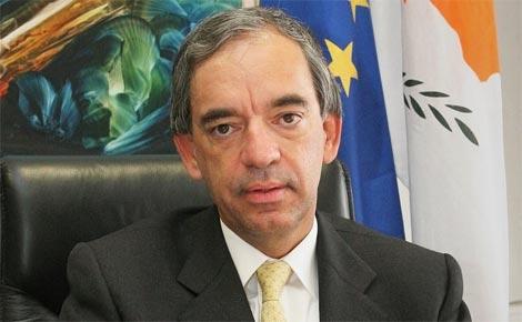 The Cyprus Finance Minister, Mr Charilaos Stavrakis
