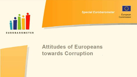 Eurobarometer Special Report: Attitude of Europeans towards corruption