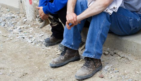 Cyprus construction workers strike