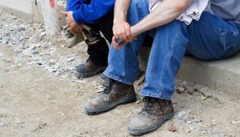 unemployed building contractors