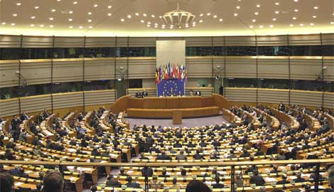European Parliament in session