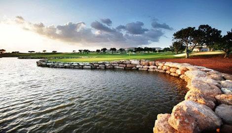 Elea golf course at Paphos, Cyprus
