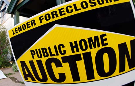 primary residence foreclosure