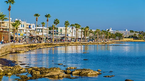 Cyprus popular spot in Europe for Brits