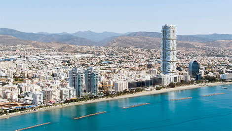 high rise development in Limassol