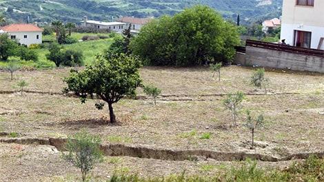 Pissouri landslide
