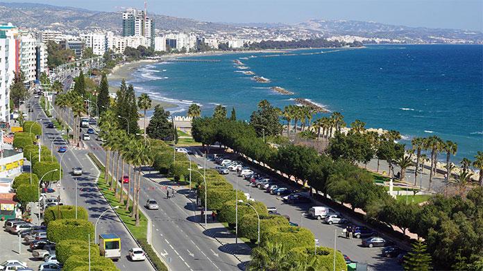 Limassol sea front