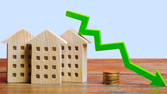 house price falls